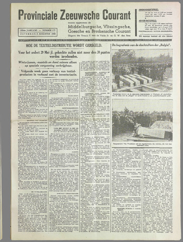Provinciale Zeeuwse Courant 1940-08-03