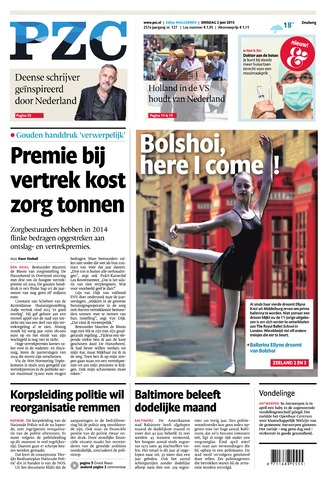 Provinciale Zeeuwse Courant 2015-06-02