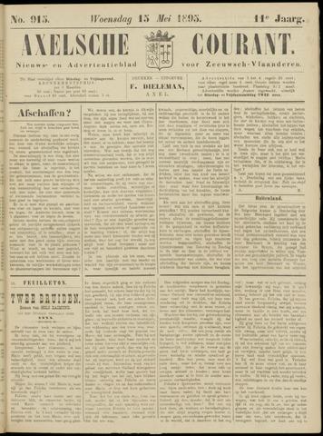 Axelsche Courant 1895-05-15