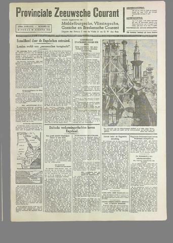 Provinciale Zeeuwse Courant 1940-08-20