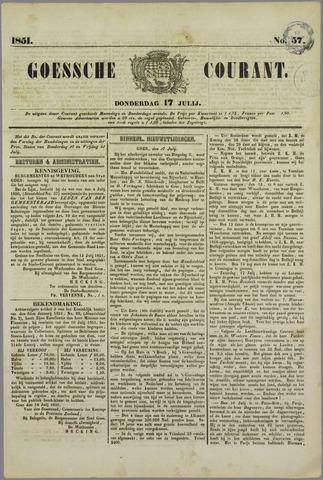 Goessche Courant 1851-07-17