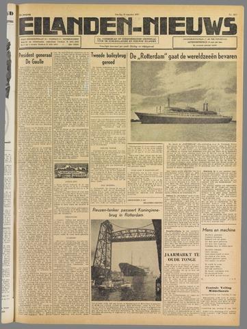 Eilanden-nieuws. Christelijk streekblad op gereformeerde grondslag 1959-08-25