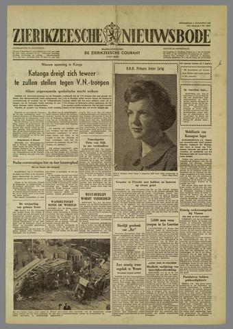 Zierikzeesche Nieuwsbode 1960-08-04
