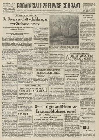 Provinciale Zeeuwse Courant 1953-01-15