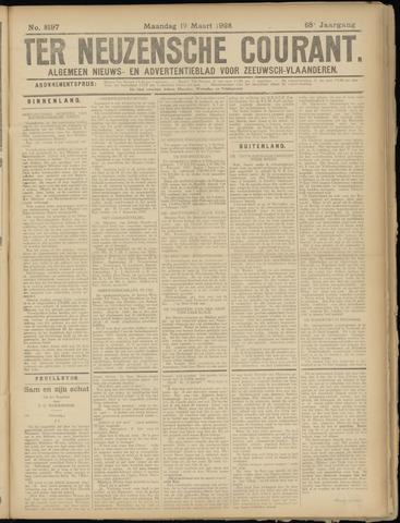 Ter Neuzensche Courant. Algemeen Nieuws- en Advertentieblad voor Zeeuwsch-Vlaanderen / Neuzensche Courant ... (idem) / (Algemeen) nieuws en advertentieblad voor Zeeuwsch-Vlaanderen 1928-03-19