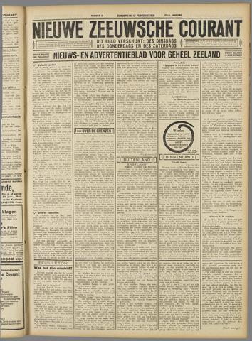 Nieuwe Zeeuwsche Courant 1931-02-12