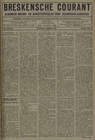 Breskensche Courant 1921-09-07