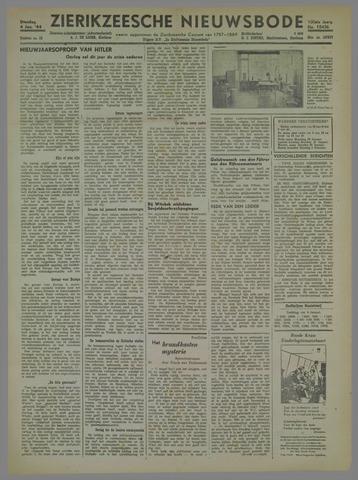 Zierikzeesche Nieuwsbode 1944-01-04