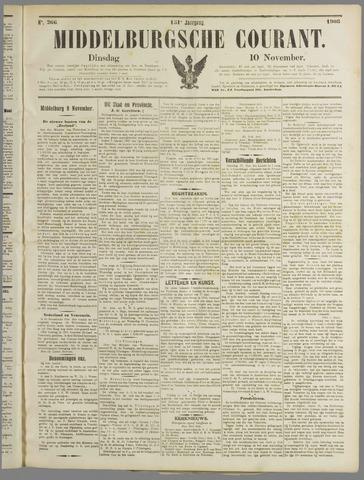 Middelburgsche Courant 1908-11-10