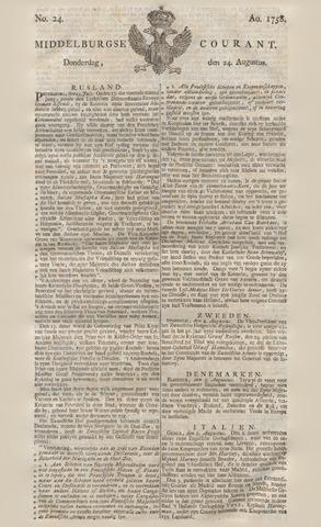 Middelburgsche Courant 1758-08-24