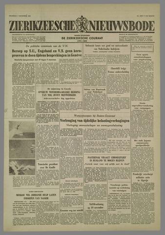 Zierikzeesche Nieuwsbode 1958-11-03