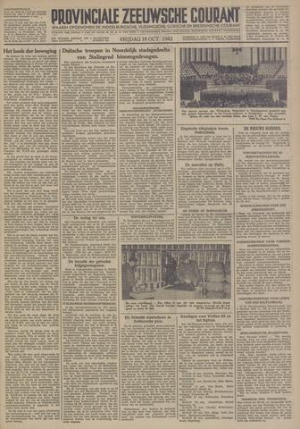 Provinciale Zeeuwse Courant 1942-10-16
