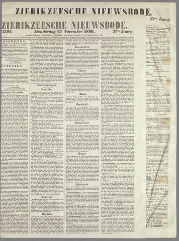Zierikzeesche Nieuwsbode 1880-11-25