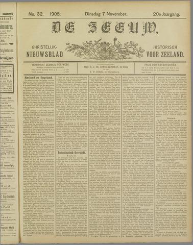De Zeeuw. Christelijk-historisch nieuwsblad voor Zeeland 1905-11-07