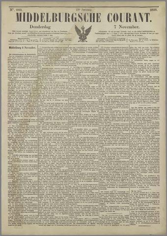Middelburgsche Courant 1895-11-07