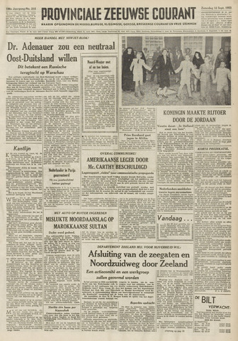 Provinciale Zeeuwse Courant 1953-09-12