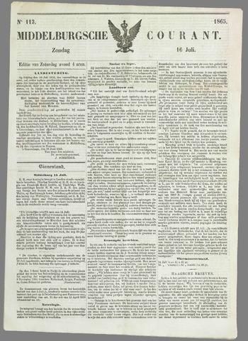 Middelburgsche Courant 1865-07-16