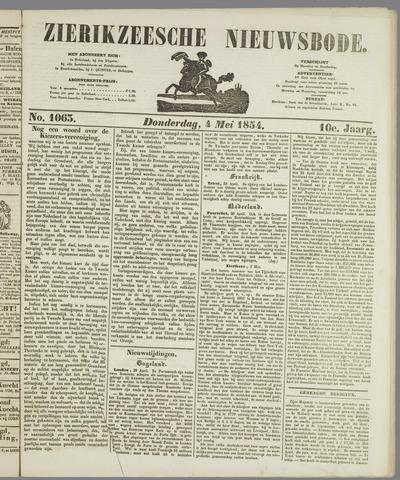Zierikzeesche Nieuwsbode 1854-05-04