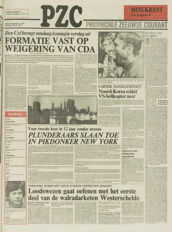 Provinciale Zeeuwse Courant 1977-07-15