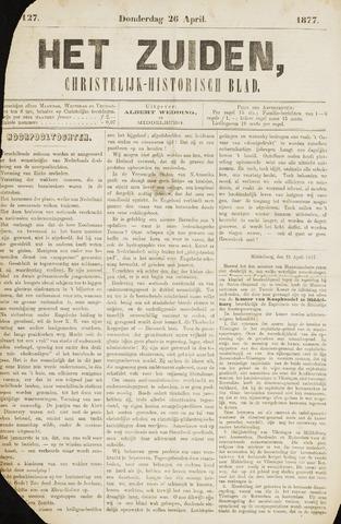 Het Zuiden, Christelijk-historisch blad 1877-04-26