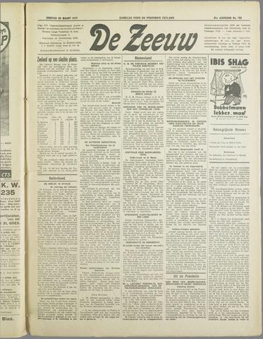 De Zeeuw. Christelijk-historisch nieuwsblad voor Zeeland 1937-03-30
