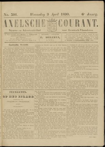 Axelsche Courant 1890-04-09