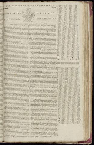 Middelburgsche Courant 1795-08-13