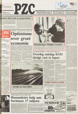 Provinciale Zeeuwse Courant 1988-02-06