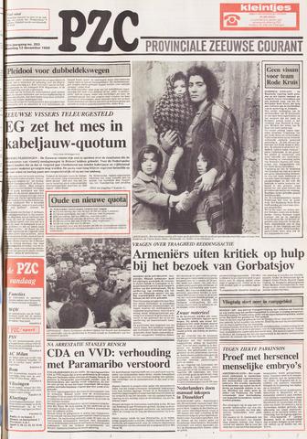 Provinciale Zeeuwse Courant 1988-12-12