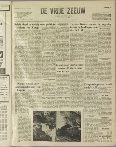 de Vrije Zeeuw 1960-02-10