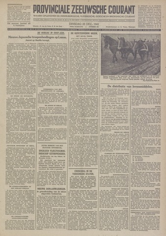 Provinciale Zeeuwse Courant 1941-12-23