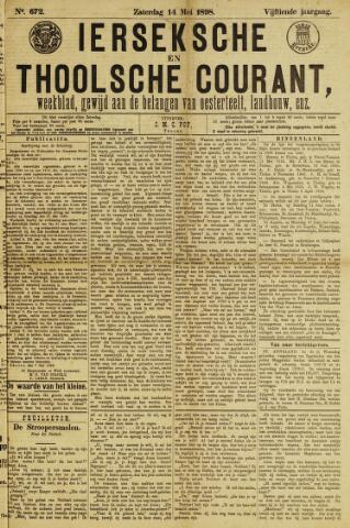 Ierseksche en Thoolsche Courant 1898-05-14