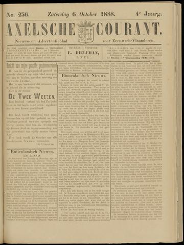 Axelsche Courant 1888-10-06