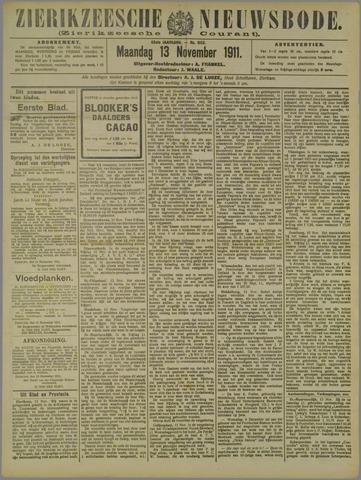 Zierikzeesche Nieuwsbode 1911-11-13
