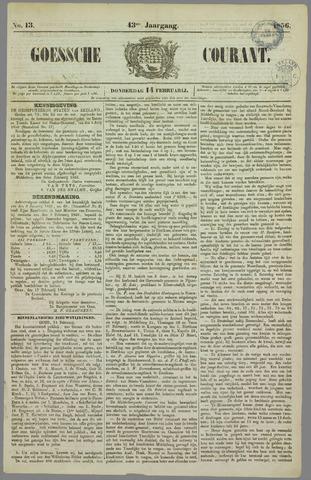 Goessche Courant 1856-02-14
