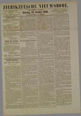 Zierikzeesche Nieuwsbode 1891-10-24