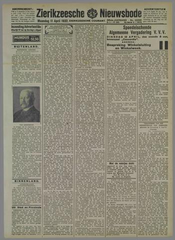 Zierikzeesche Nieuwsbode 1932-04-11