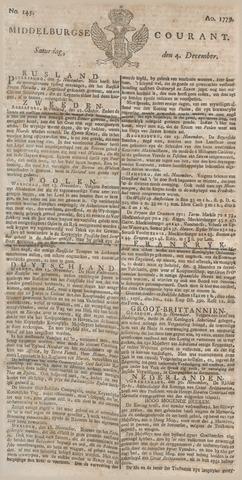 Middelburgsche Courant 1779-12-04