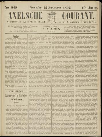 Axelsche Courant 1894-09-12