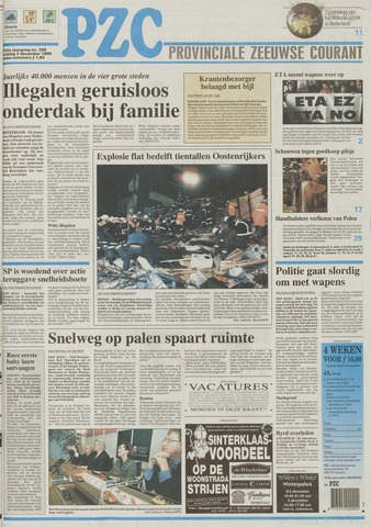 Provinciale Zeeuwse Courant 1999-12-03