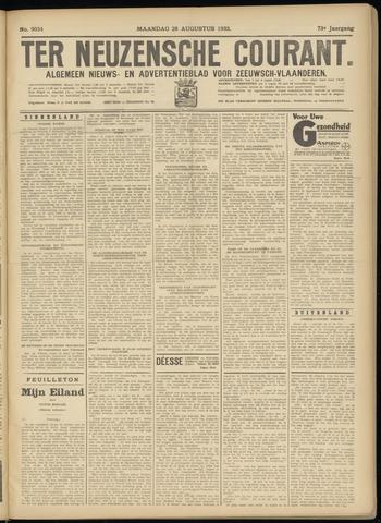 Ter Neuzensche Courant. Algemeen Nieuws- en Advertentieblad voor Zeeuwsch-Vlaanderen / Neuzensche Courant ... (idem) / (Algemeen) nieuws en advertentieblad voor Zeeuwsch-Vlaanderen 1933-08-28