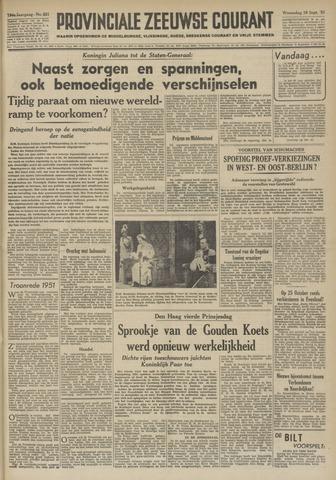 Provinciale Zeeuwse Courant 1951-09-19