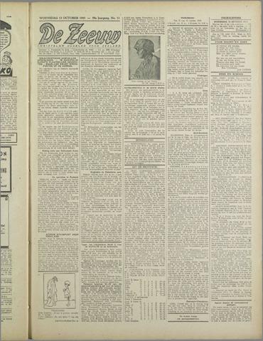 De Zeeuw. Christelijk-historisch nieuwsblad voor Zeeland 1943-10-13
