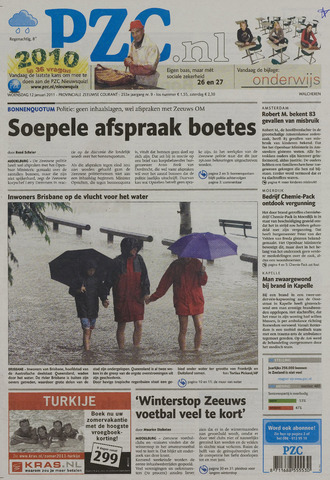 Provinciale Zeeuwse Courant 2011-01-12