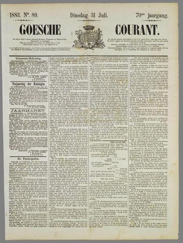 Goessche Courant 1883-07-31