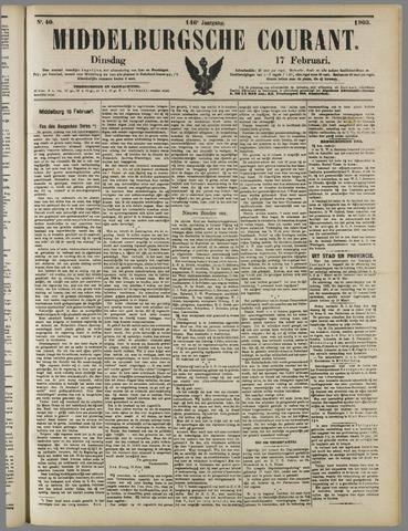 Middelburgsche Courant 1903-02-17