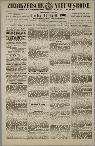 Zierikzeesche Nieuwsbode 1901-04-16