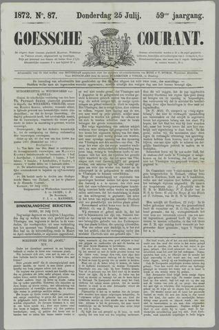 Goessche Courant 1872-07-25