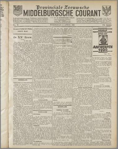 Middelburgsche Courant 1930-04-02