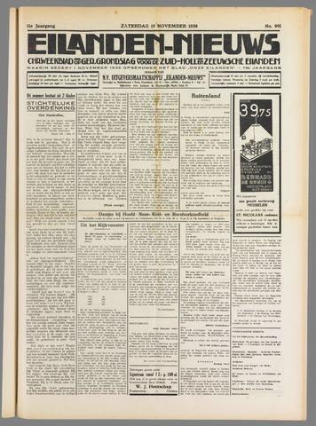 Eilanden-nieuws. Christelijk streekblad op gereformeerde grondslag 1938-11-19